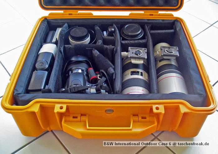 B&W ハードケース 仕切り カメラ