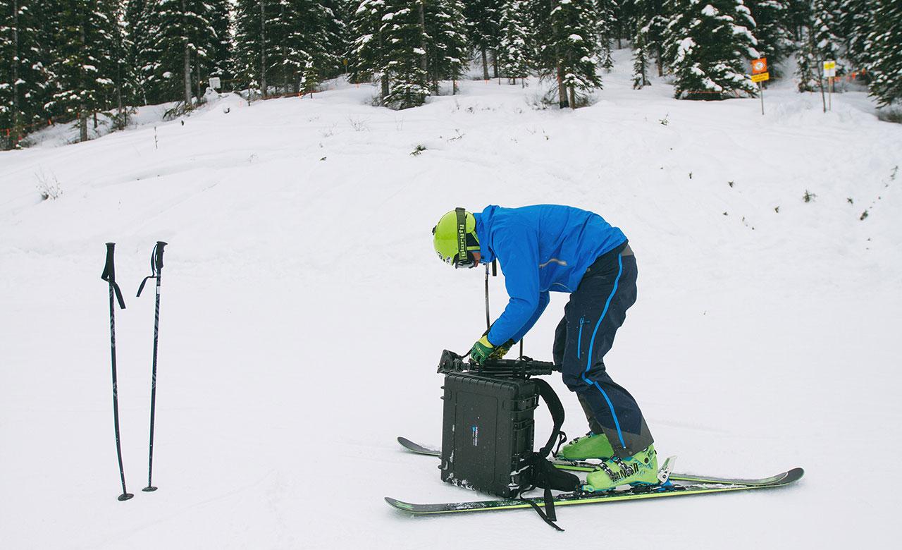 B&W ハードケース 雪山 スキー